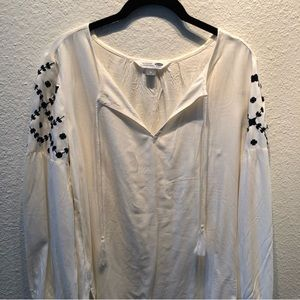New Tunic Blouse with Embroidery